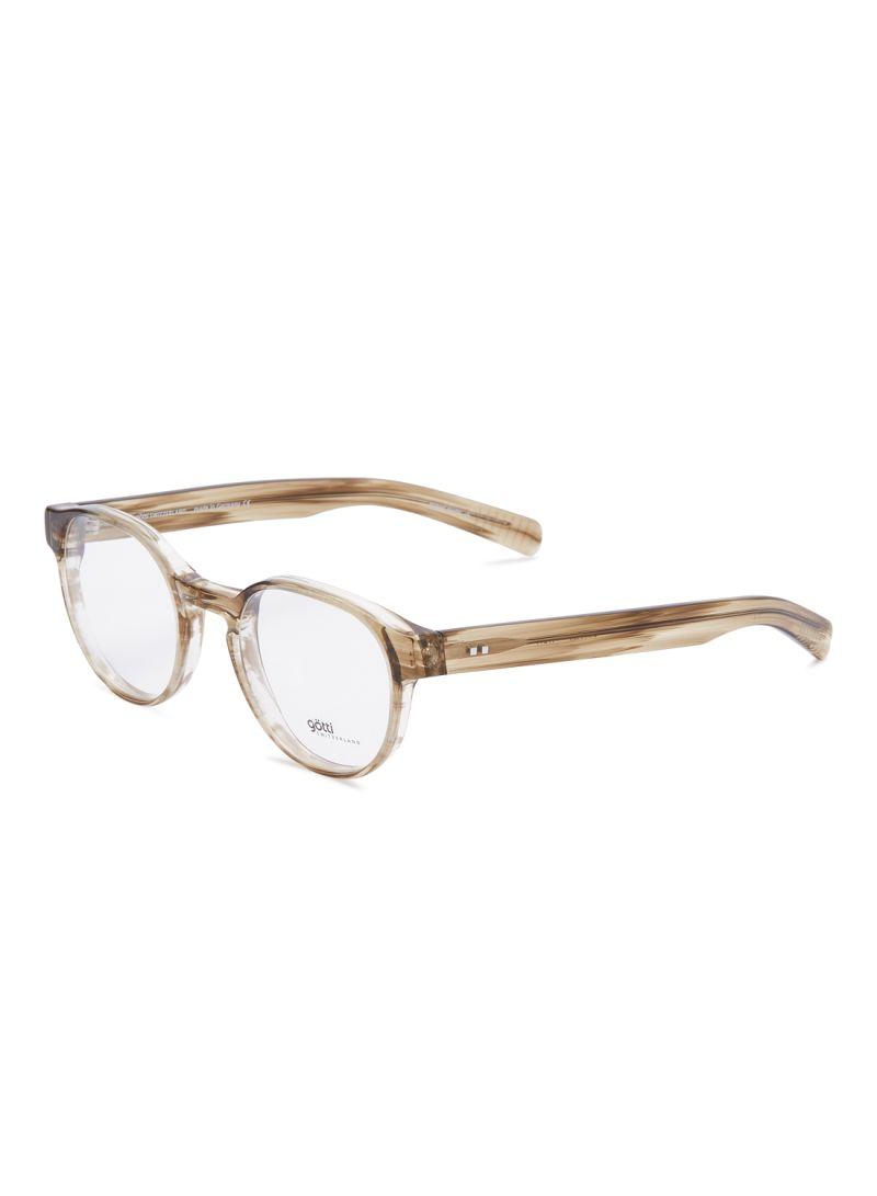 Women's Round Eyeglasses Frames GOTTI ERWIN FGOT/HBH