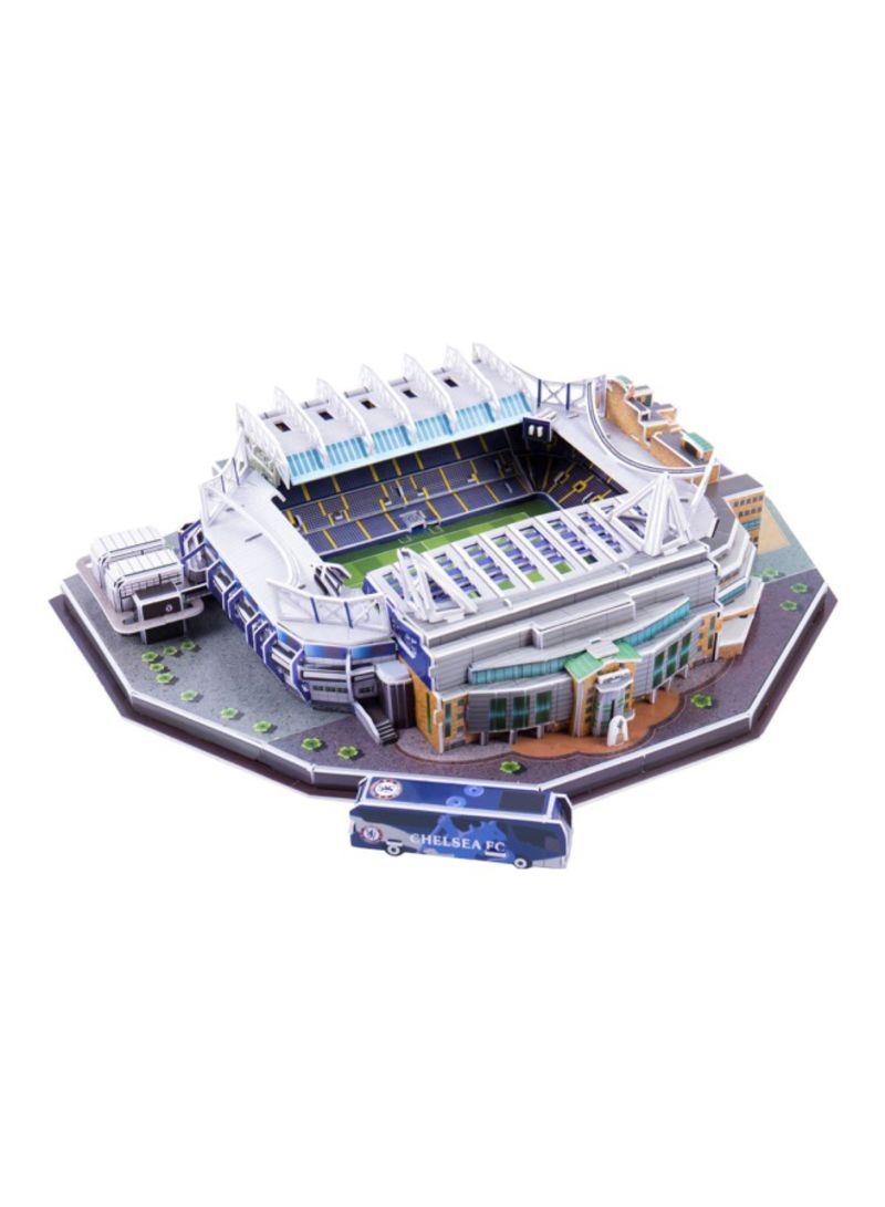 3D Three-dimensional Jigsaw Football Court Playset