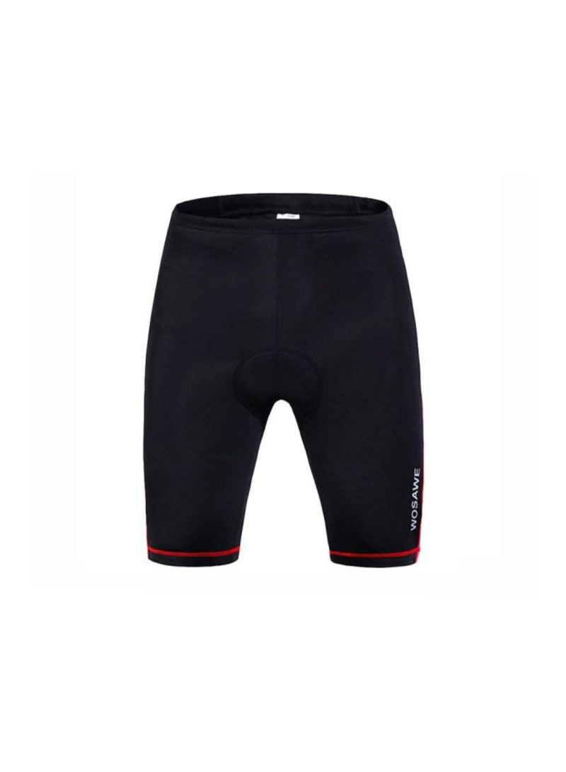 Breathable Silica Gel Padded Bicycle Shorts