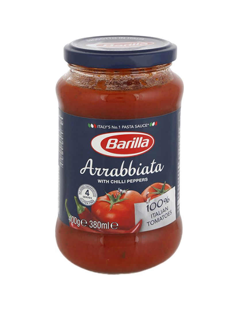Arrabbiata Chilli Peppers Tomatoes Sauce 380 ml