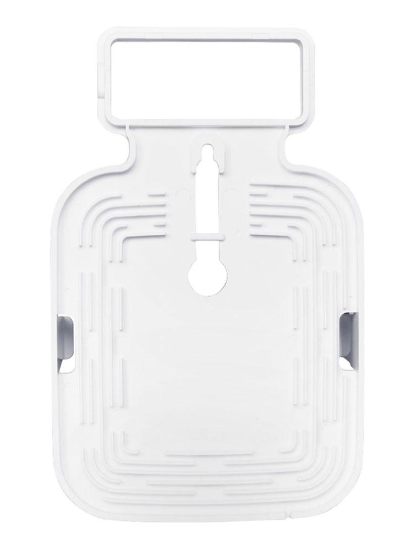 Wall Mount For Samsung Smart Things Hub V2 White 0.118 kg