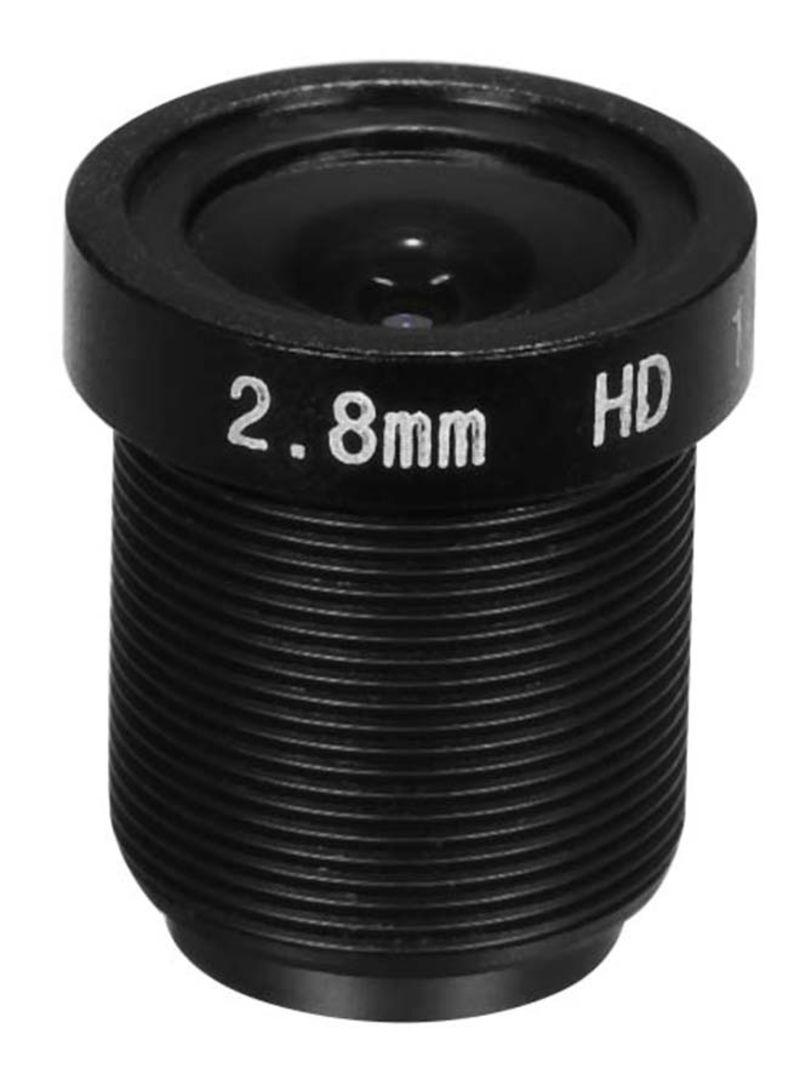 Format HD 2.0 Megpaixel Surveillance Camera Lens Black 0.01 kg