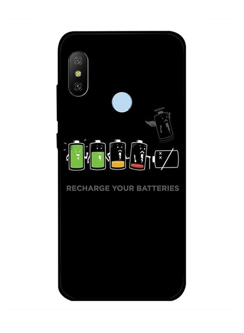 Protective Case Cover For Xiaomi Redmi Note 6 Recharge Your Batteries