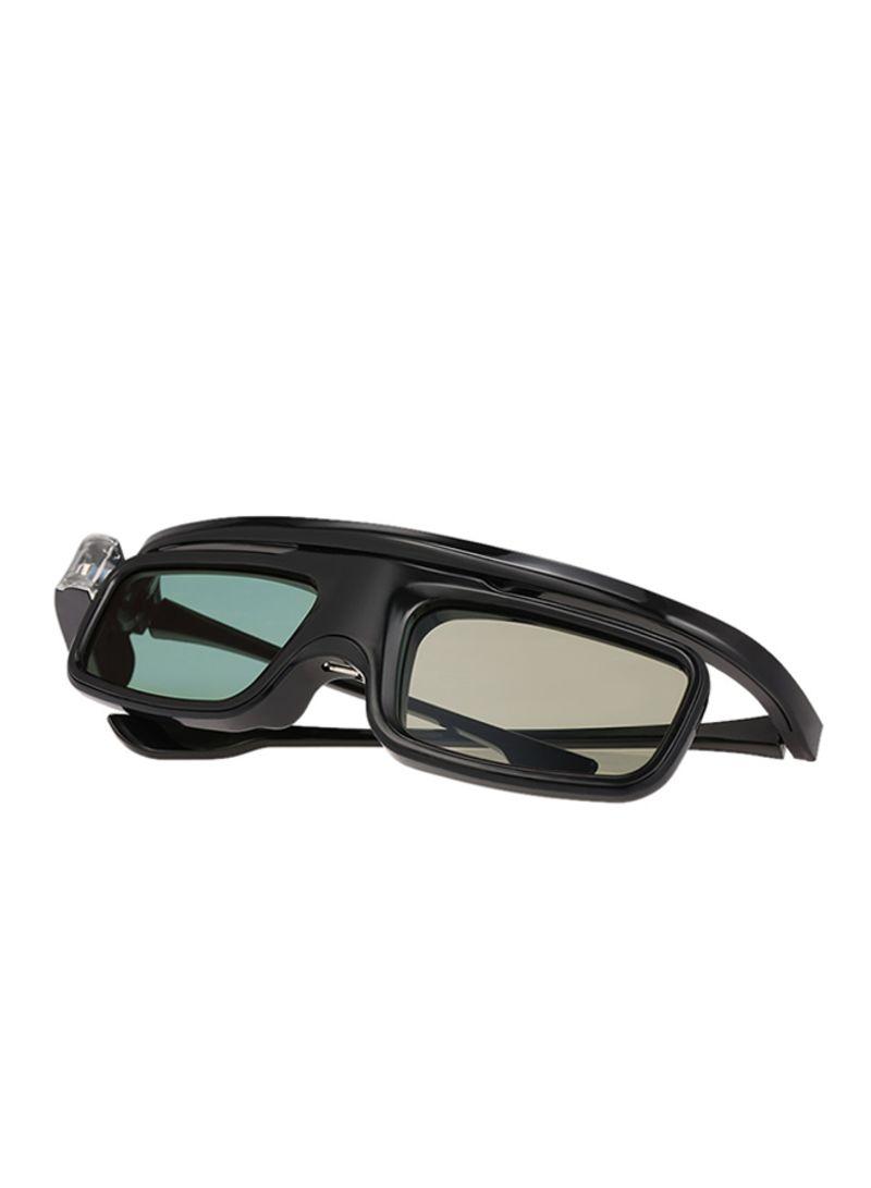 3D Active Rechargeable Shutter Glasses Black