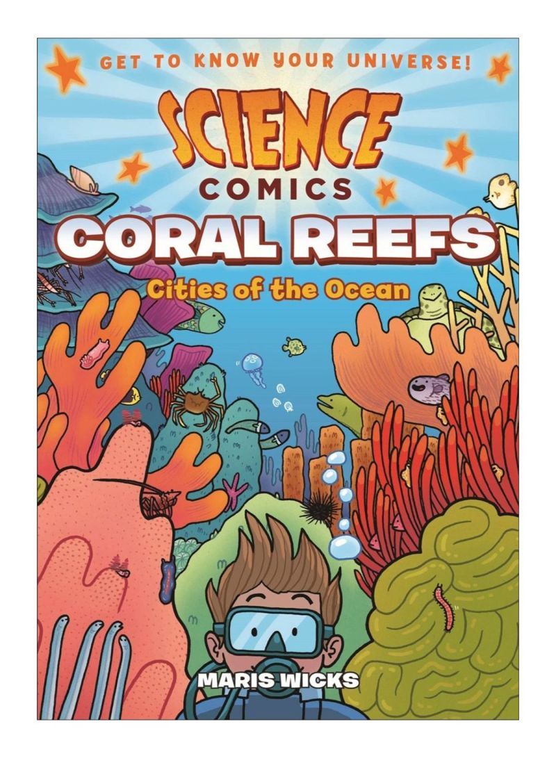 Science Comics Coral Reefs Paperback