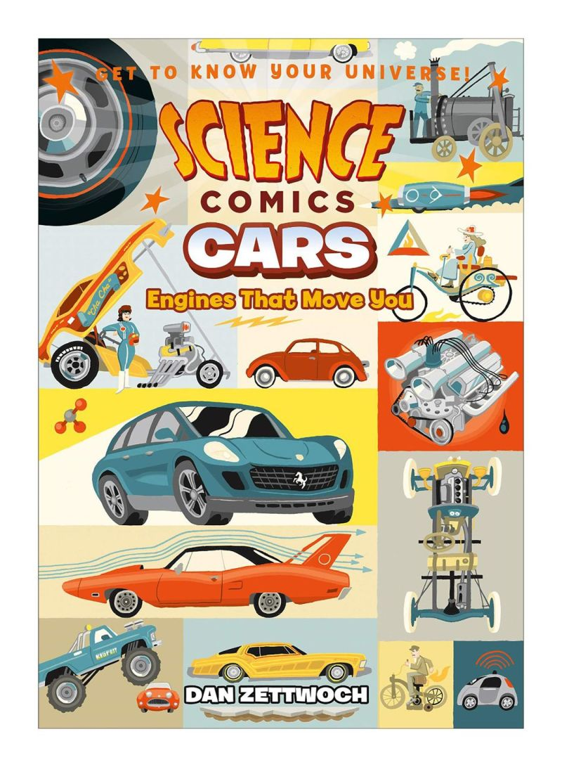 Science Comics Cars Paperback Vol. 1