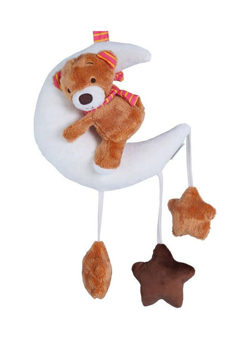 Moon Bear Baby Carriage Hanging Baby Doll Super Soft Plush Toys