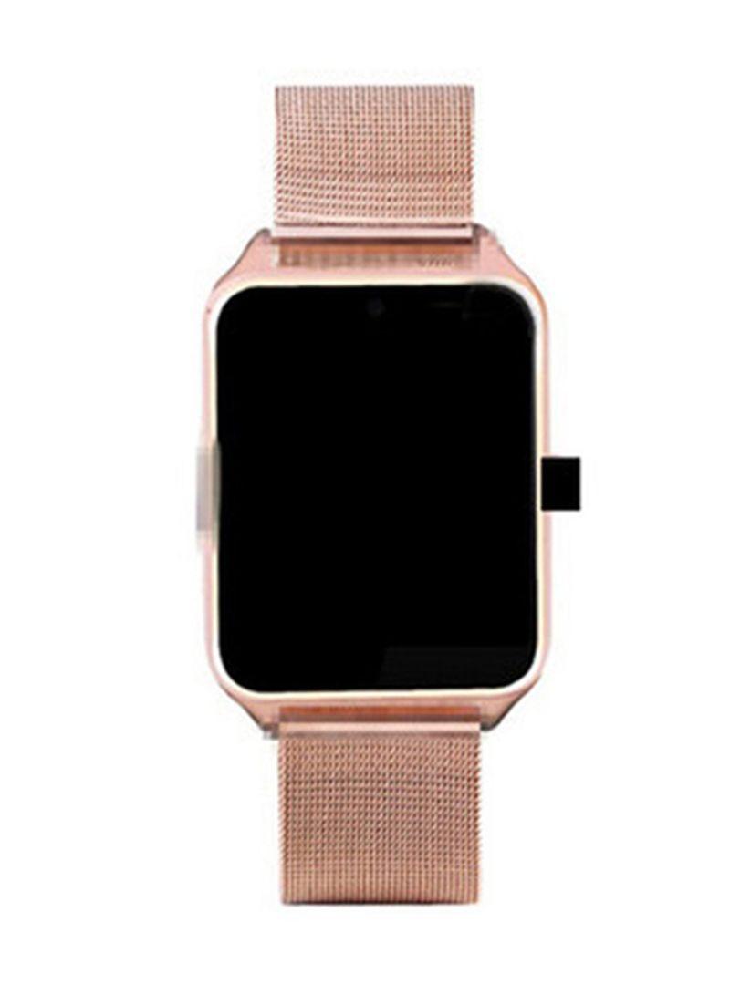 Z60  Bluetooth Camera Support Sim Card Smartwatch Gold
