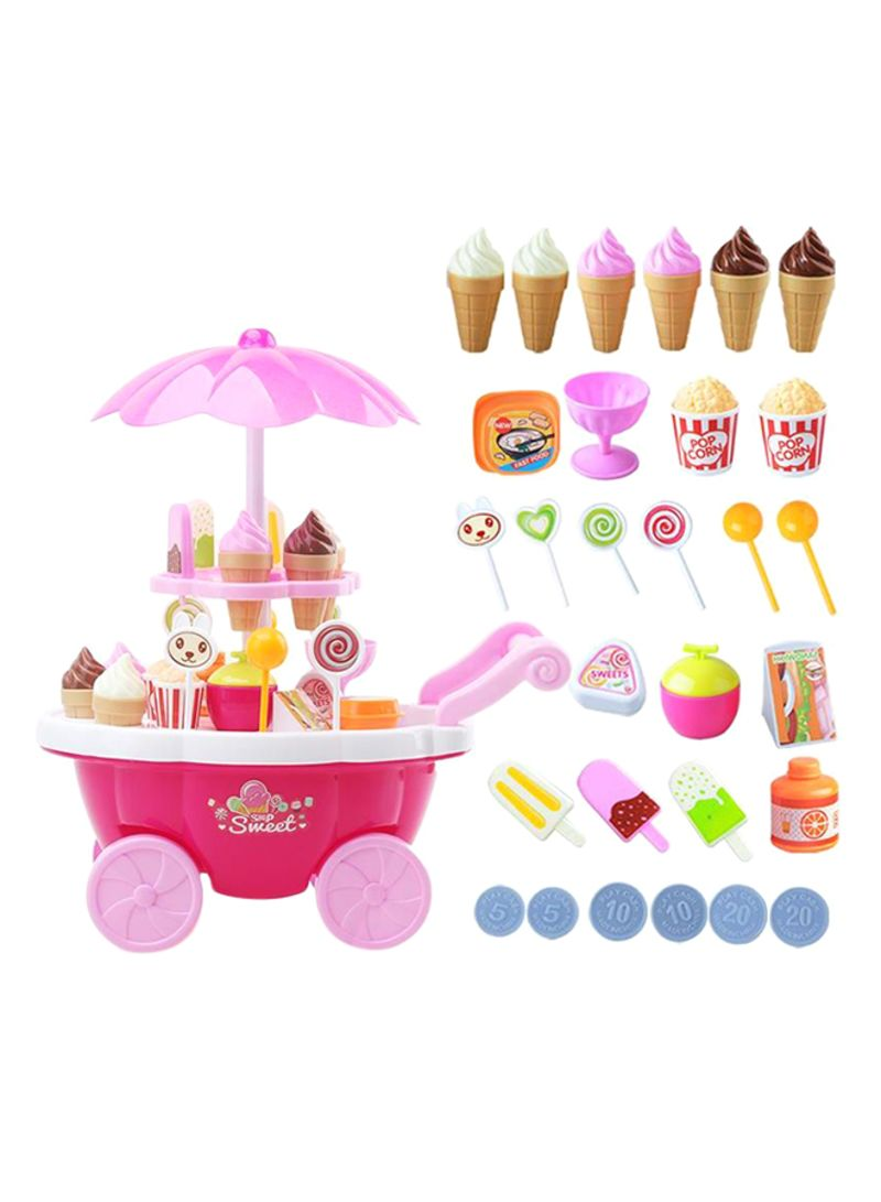 Pack Of 36 Candy Ice Cream Car Toys Pretend Play