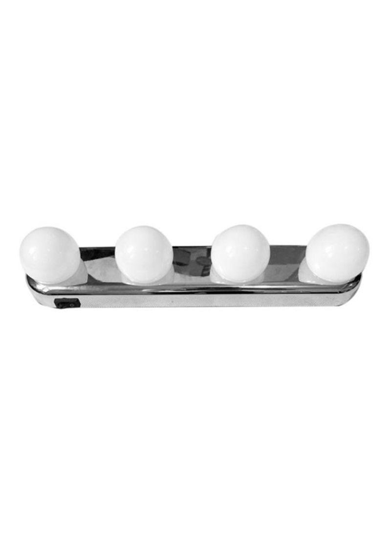 4 LED Bulb Studio Glow Make Up Lighting White 12x13 centimeter