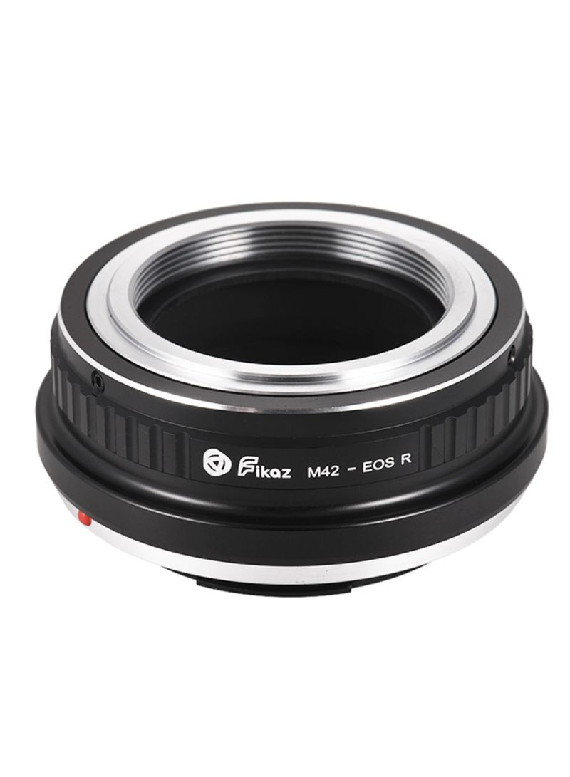 High Precision Lens Mount Adapter Ring For M42-Mount Lens To Canon EOS R/RP Black