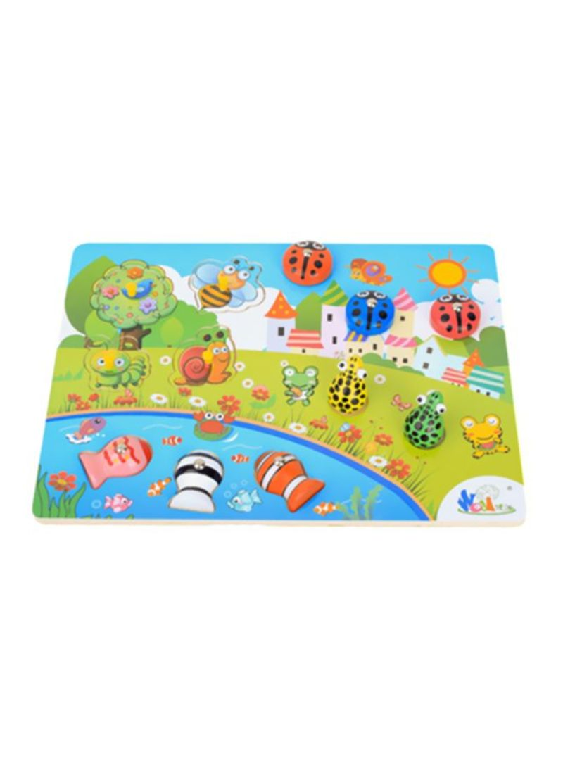 3D Fish Baby Kids Educational Magnetic Toys