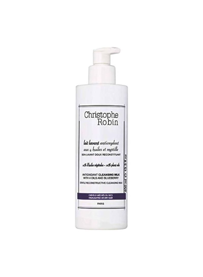 Antioxidant Cleansing Milk With 4 Oils And Blueberry 400 ml