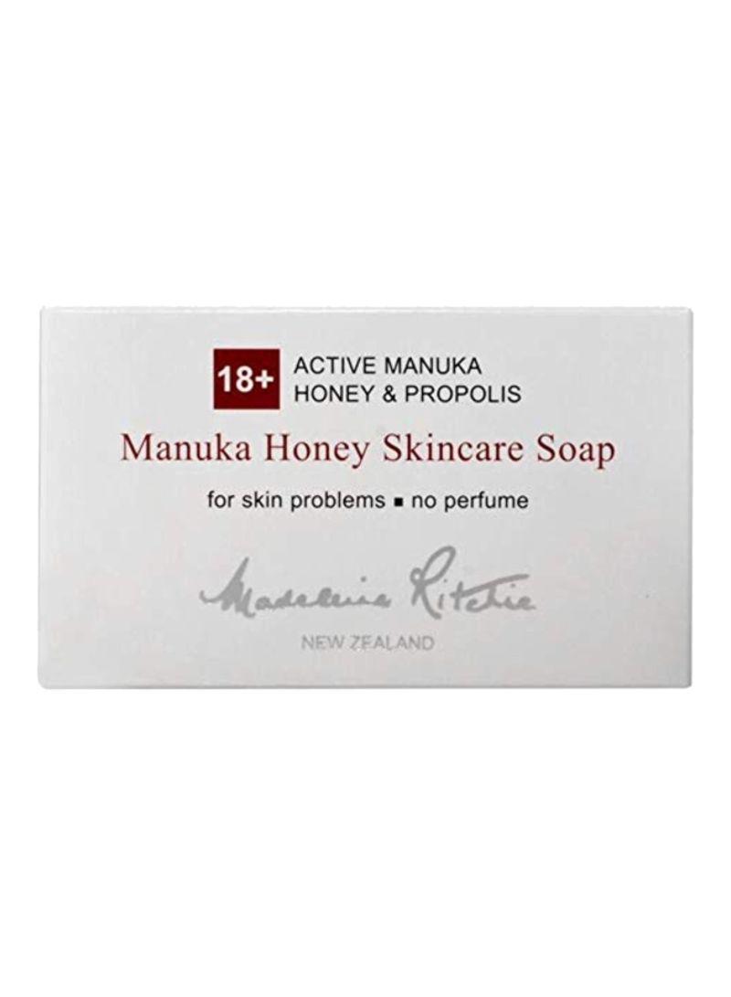18+ Active Manuka Honey And Propolis Skincare Soap 125 g