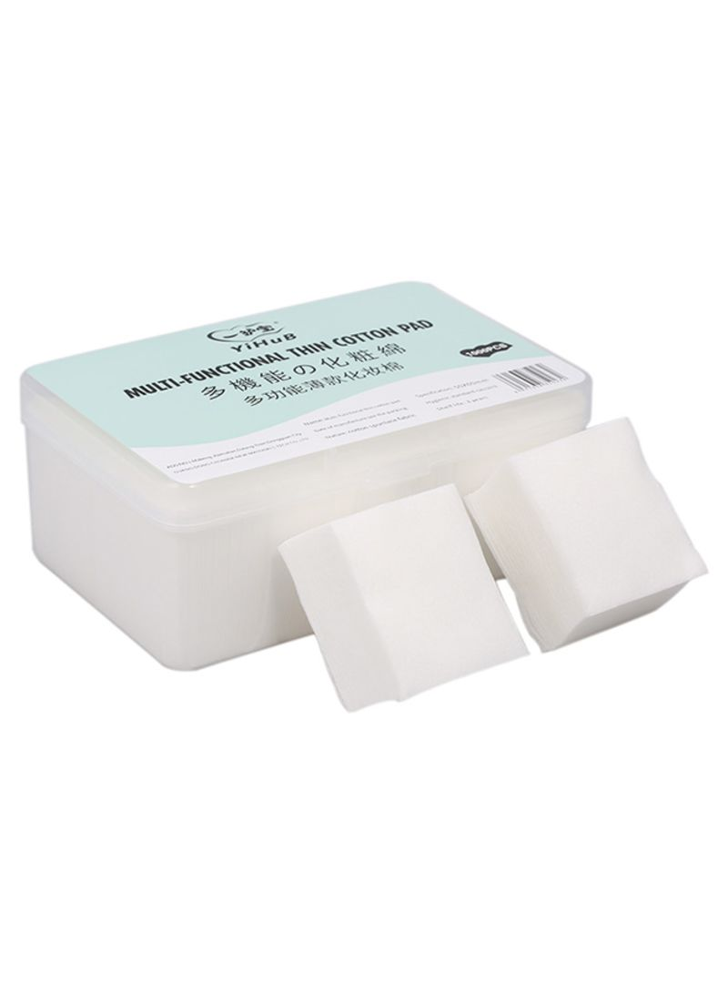 1000-Piece Thin Makeup Remover Wipes White