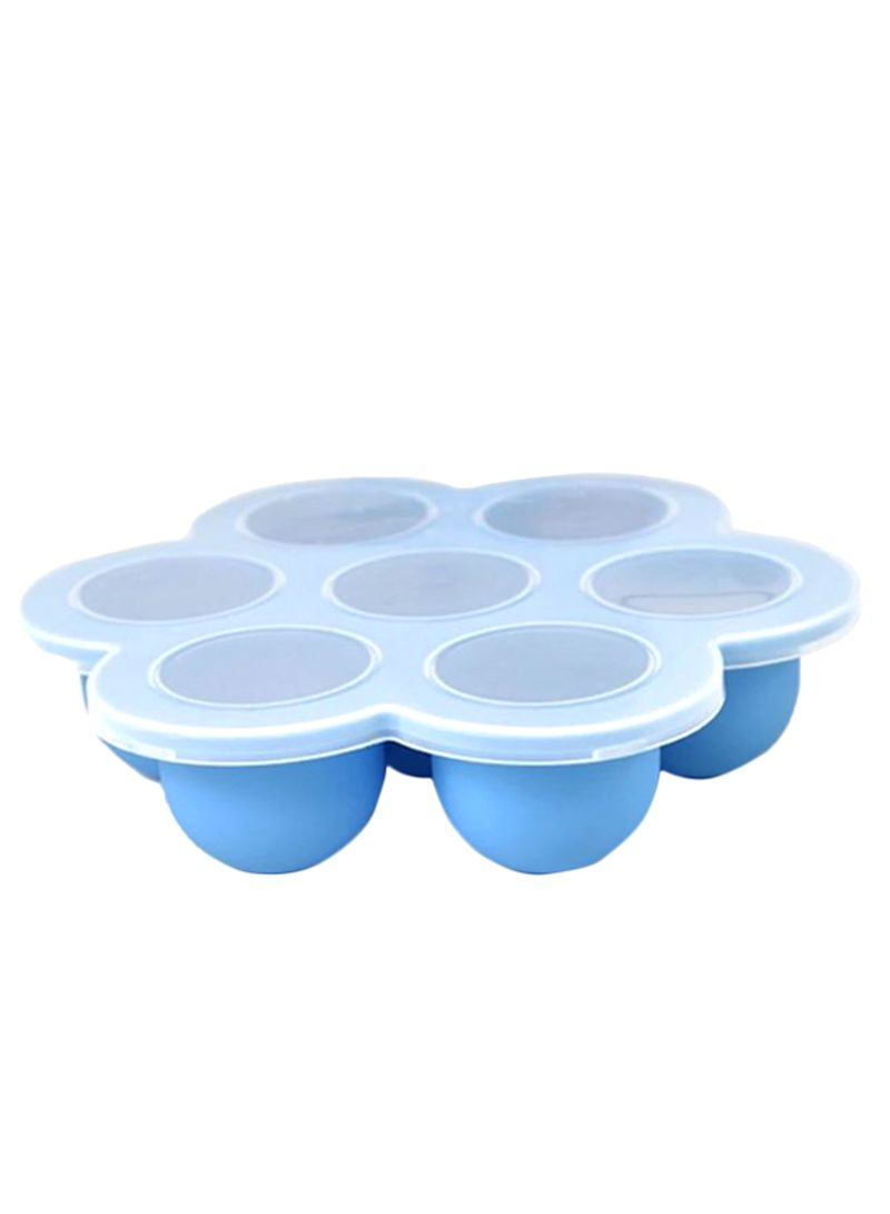 Snacks Storage Baby Food Box Blue 23*22*9 centimeter