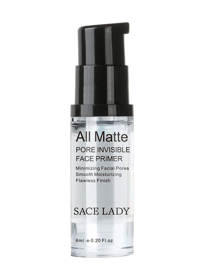 SACE LADY Face Makeup Primer-All Matte Pore Minimi Transparent