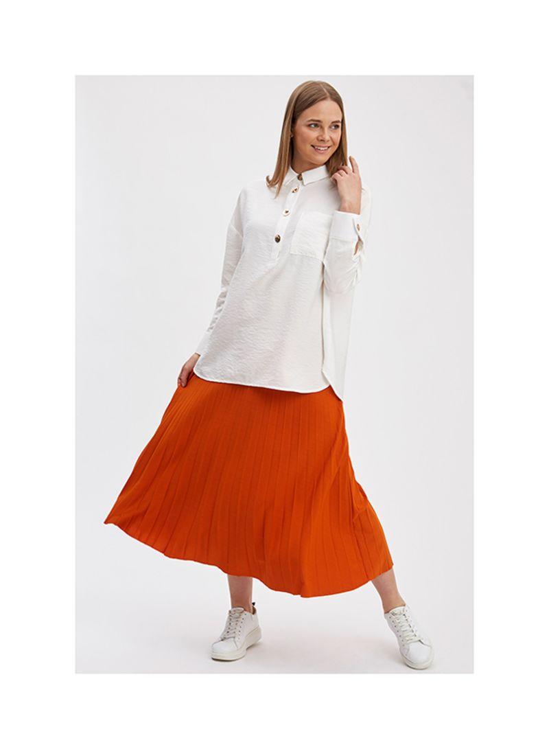 Piliseli Skirts D.ORANGE