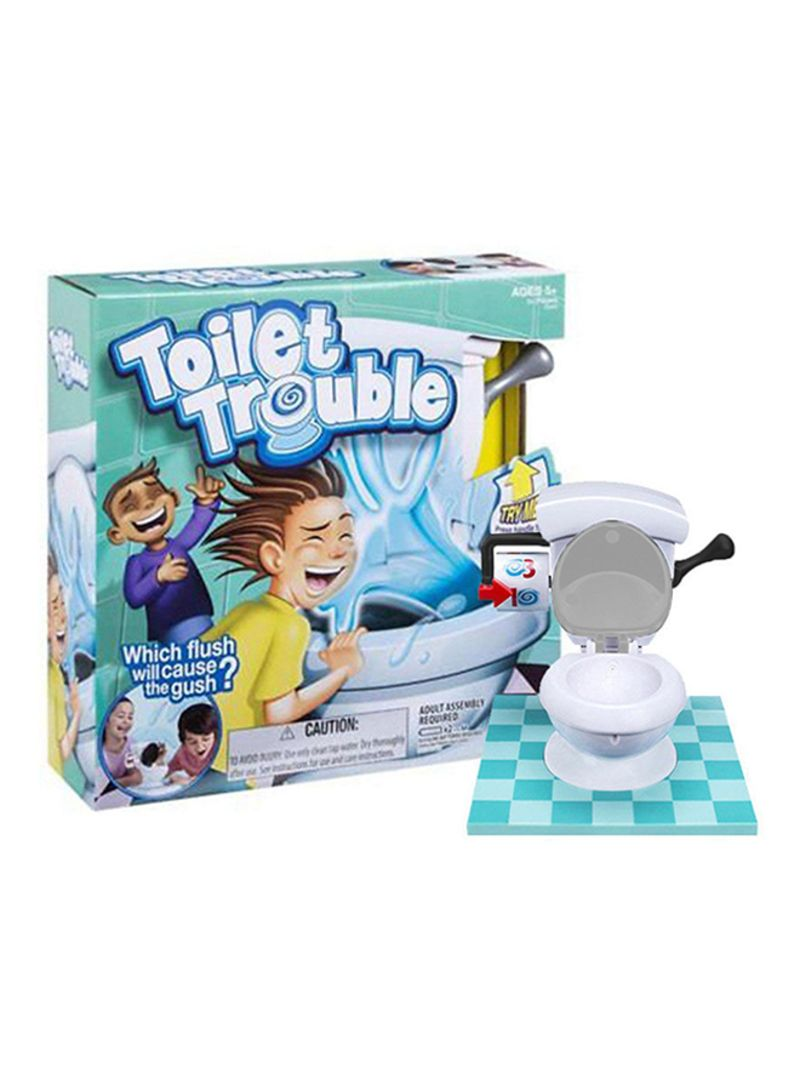Toilet Trouble Hilarious Board Game with Sound Effects