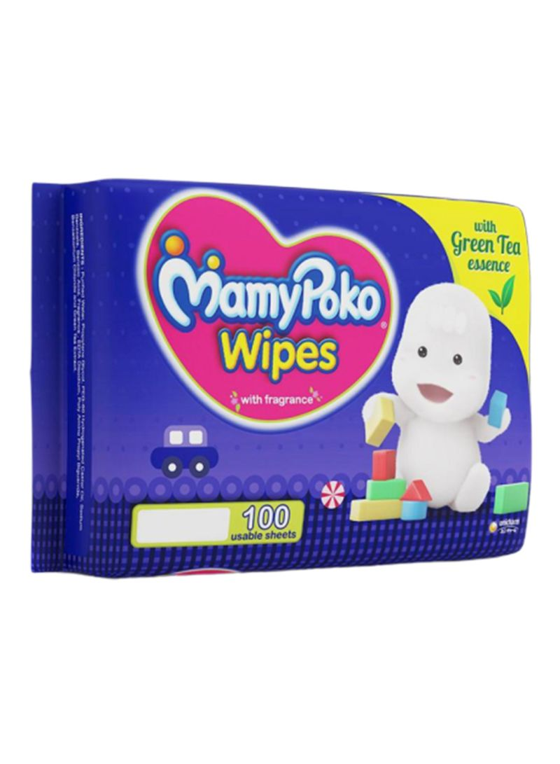 Pack Of 10 Wet Wipes 100x10 Wipes