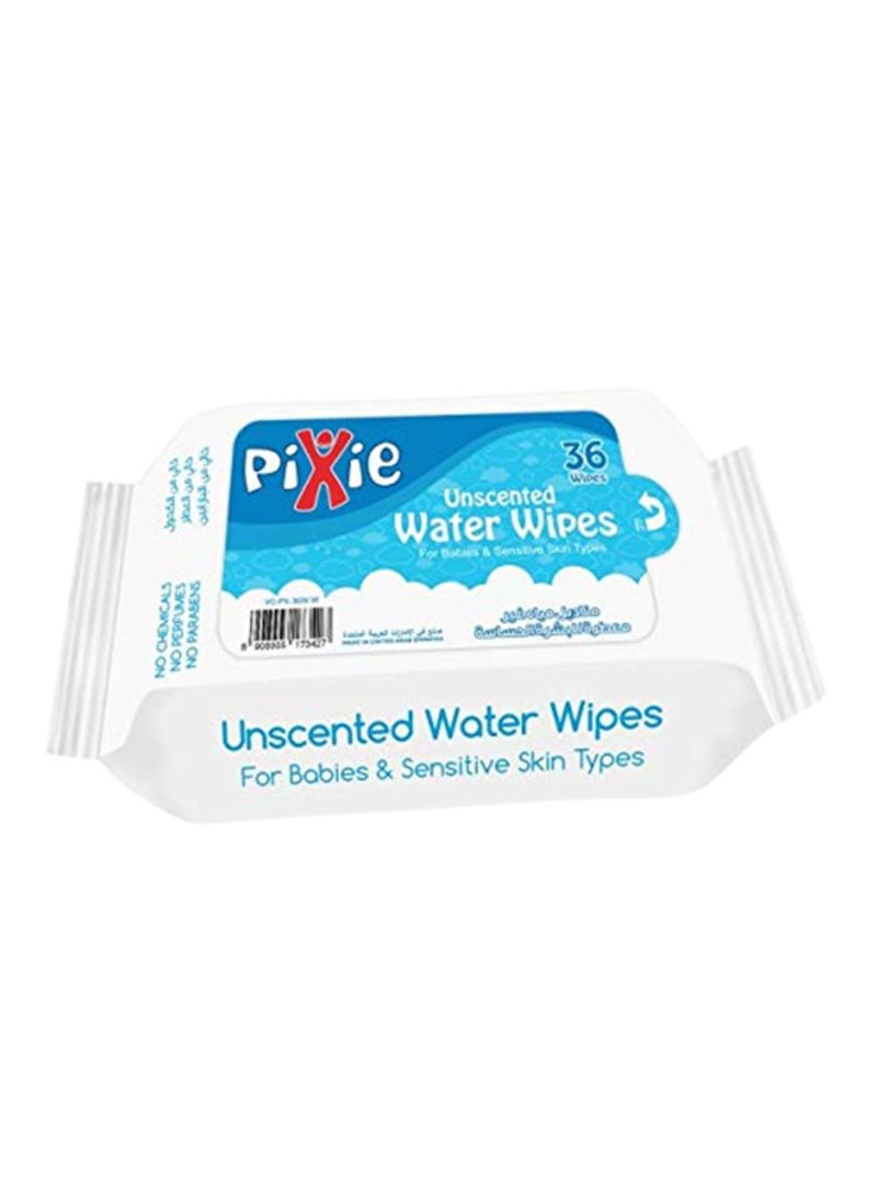 Pack Of 20 Water Wipes 36x20 Wipes