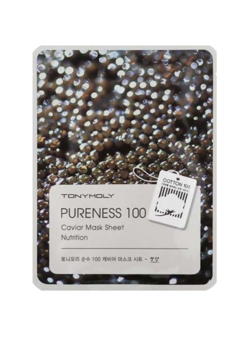 Caviar Mask Sheet Nutrition 21 ml