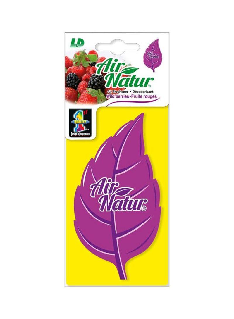 Paper Air Freshener - Wild Berry