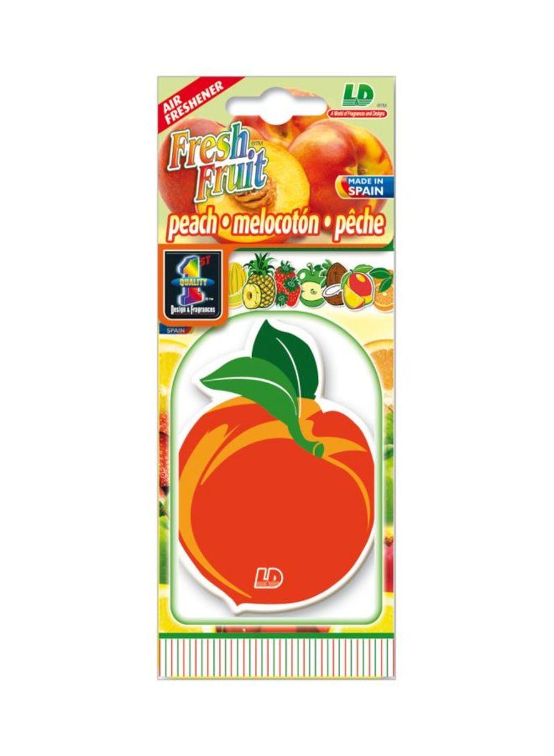 Paper Air Freshener - Peach