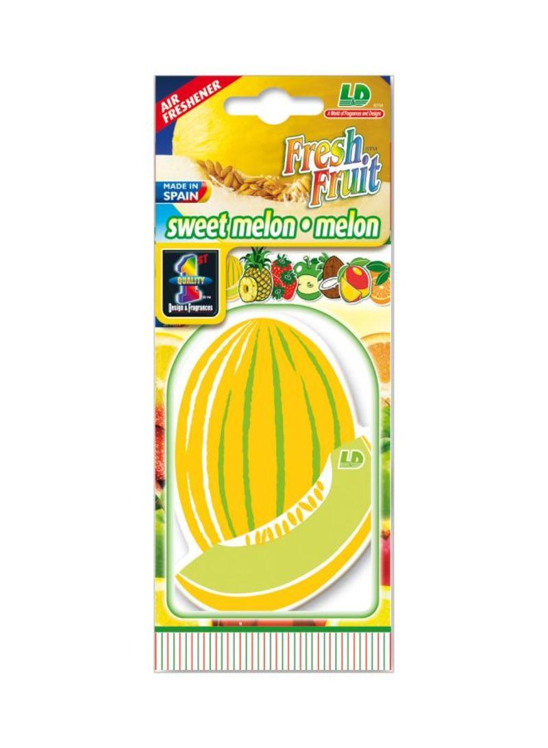 Paper Air Freshener - Melon