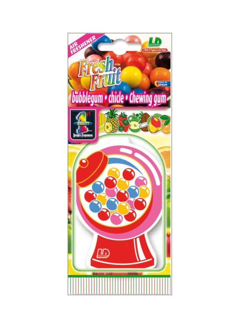 Paper Air Freshener - Bubble Gum