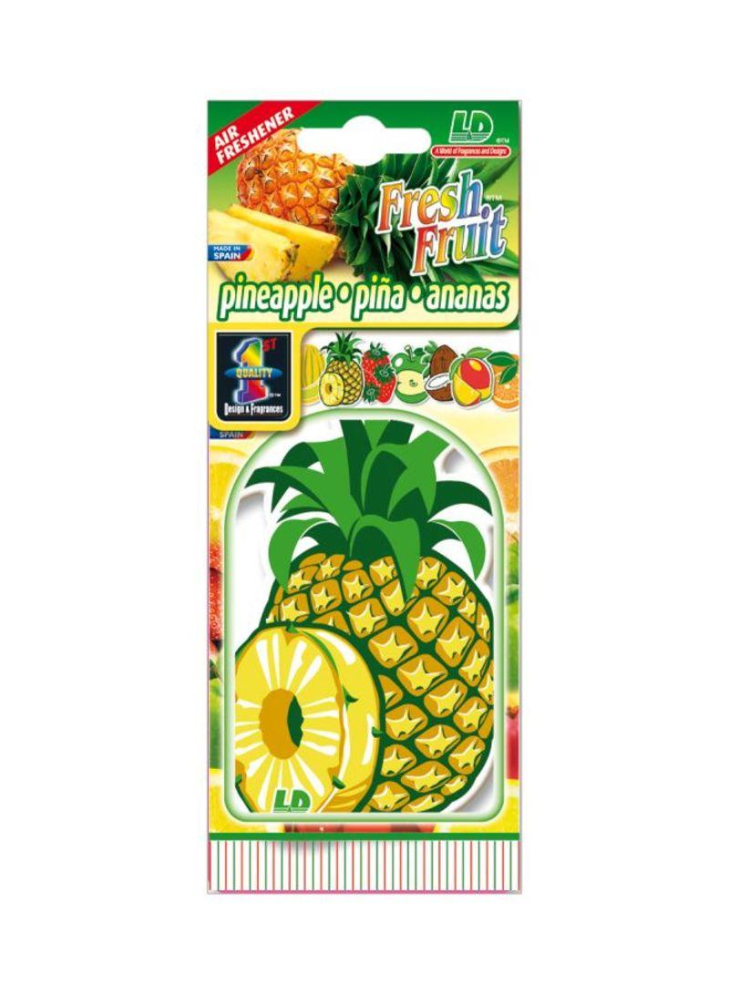 Paper Air Freshener - Pineapple