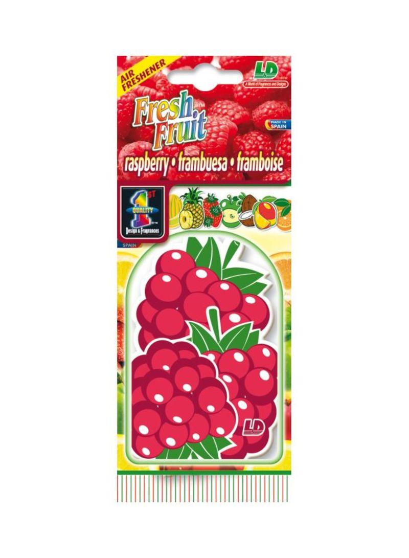 Paper Air Freshener - Rasberry