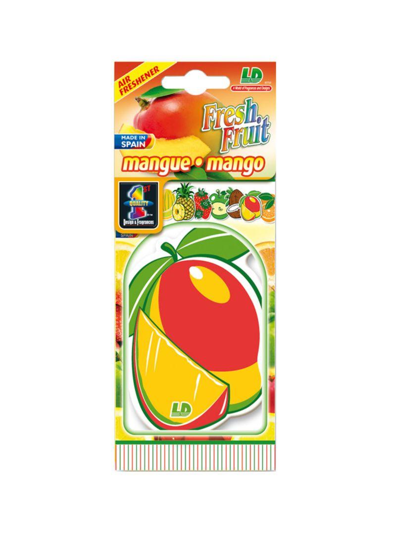 Paper Air Freshener - Mango