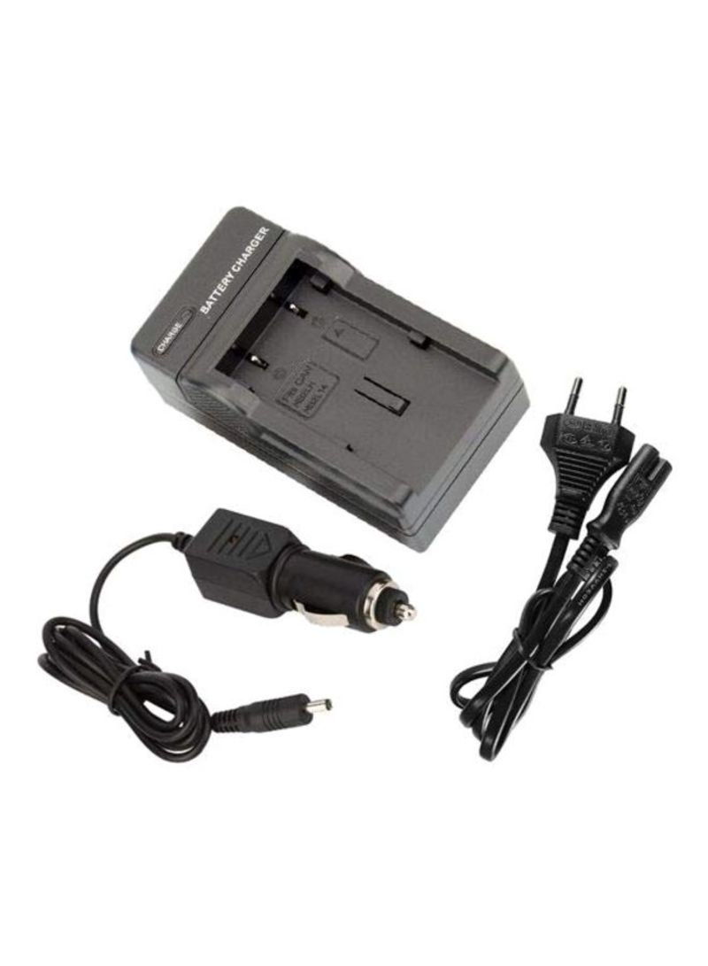 NB-2L Camera Battery Charger For Canon Black