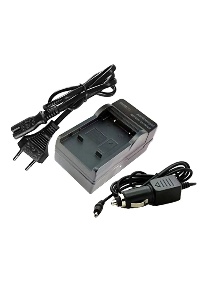 Camera Battery Charger For Sony Black