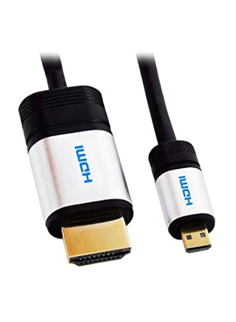 HDMI Camera Cable For Fujifilm Finepix XP50/ XP60/ XP65/ XP70/ XP71/ XP75/ XP80/ XP81/ XP85 Black