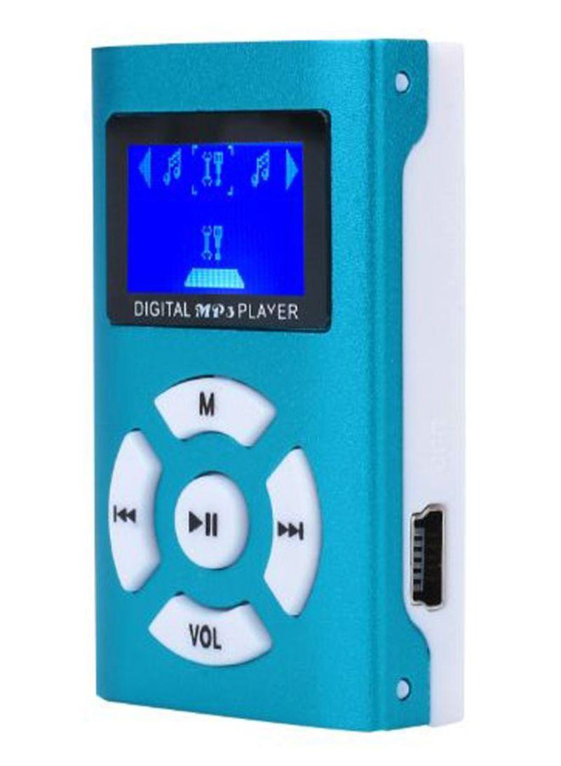 Electronics Office Mini MP3 Player 419880_1 Blue/White