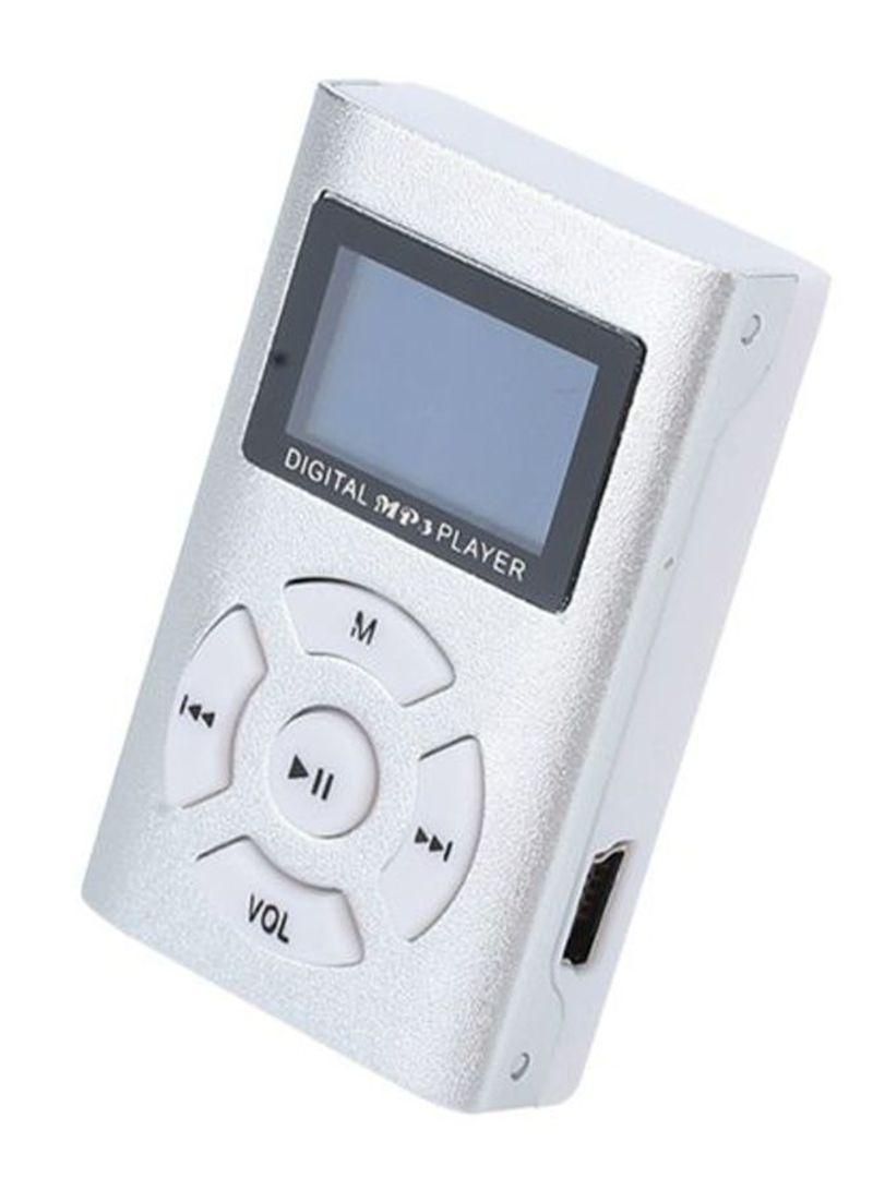 Electronics Office Mini MP3 Player 419880_4 Silver/White