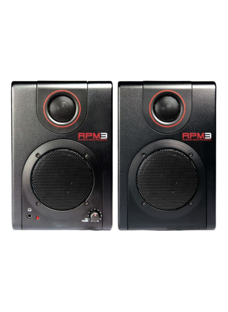 RPM3 - Production Monitors with USB Audio Interface RPM3X220 Black