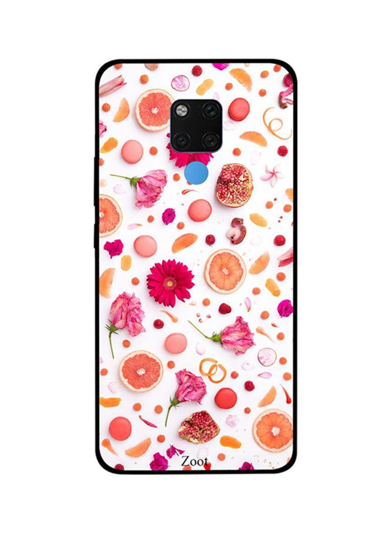 Protective Case Cover For Huawei Mate 20X Flowers Fruits