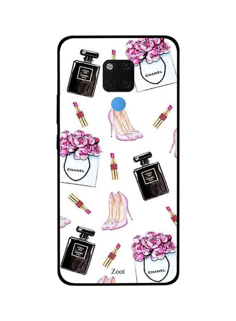 Protective Case Cover For Huawei Mate 20X Cologne Lipstick Sandals