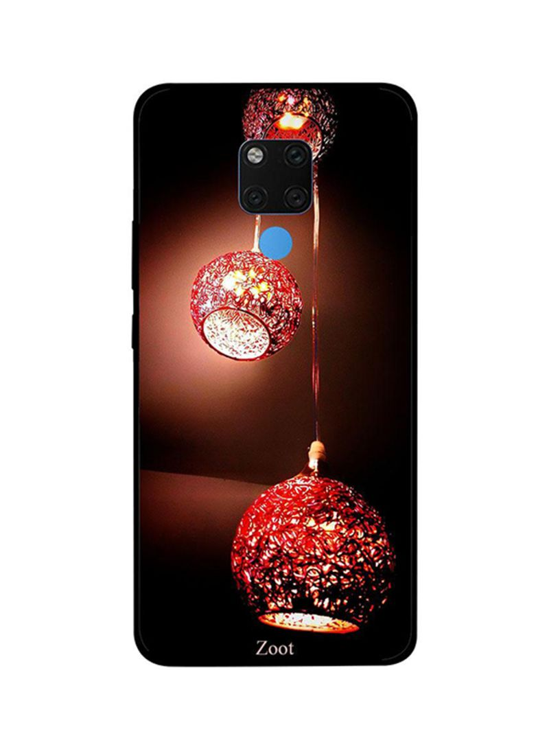 Protective Case Cover For Huawei Mate 20X Red Hanging Lamps
