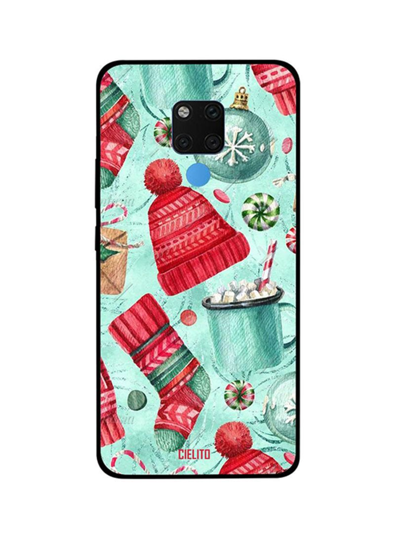 Protective Case Cover For Huawei Mate 20X Winter Cap & Socks