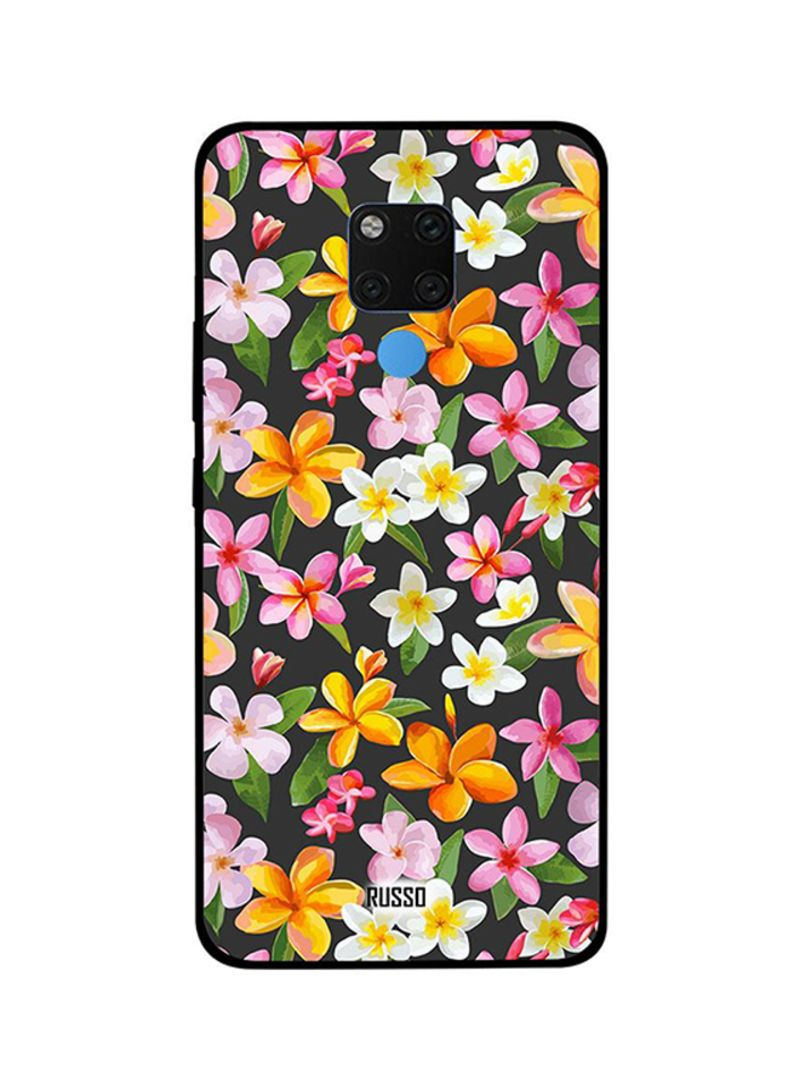 Protective Case Cover For Huawei Mate 20X Printed Flowers Art