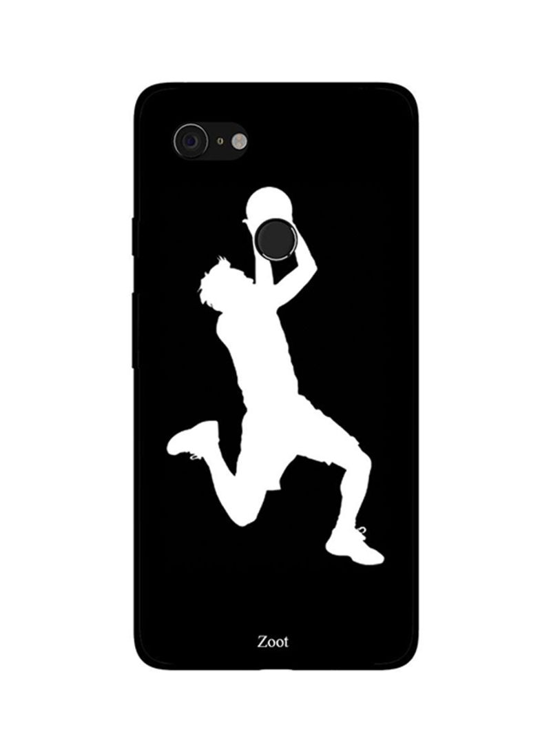 Protective Case Cover For Google Pixel 3 Basketball BNW