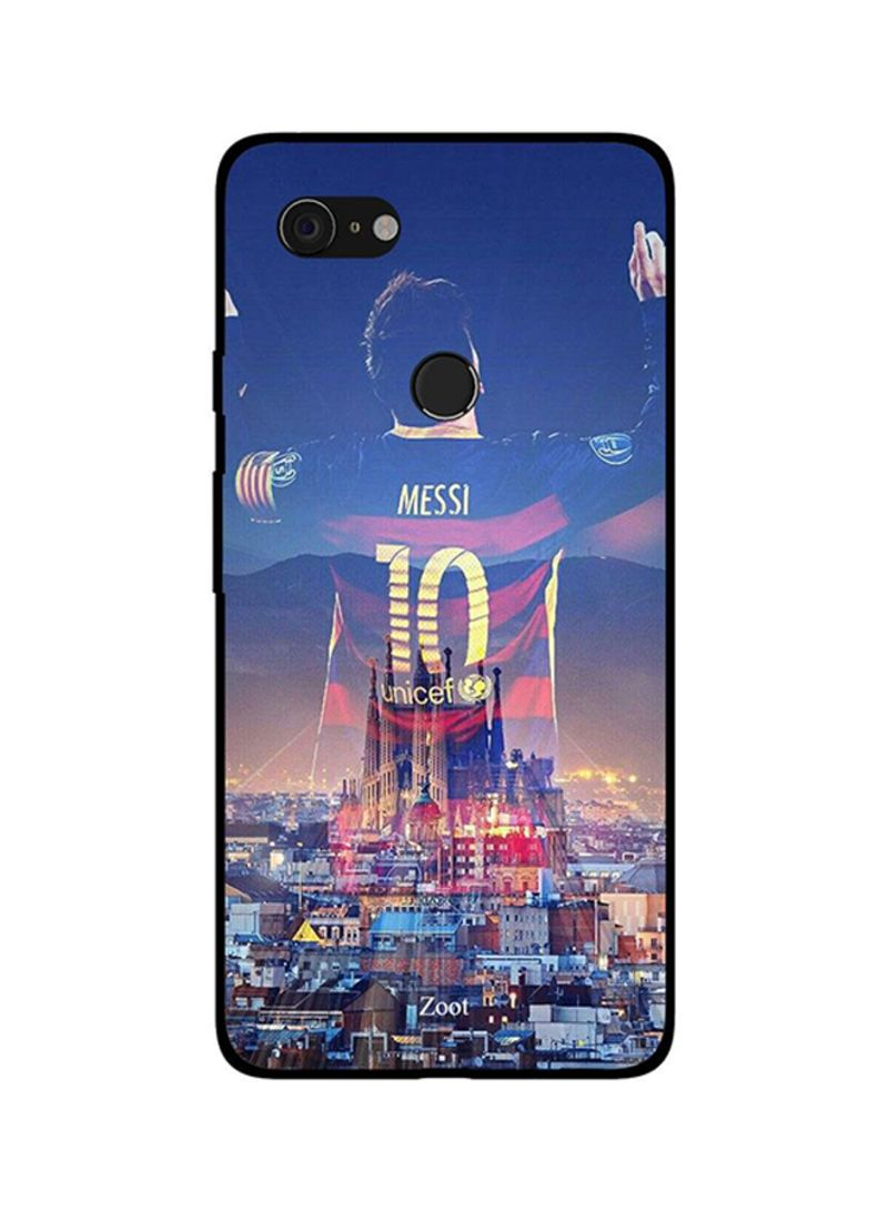 Protective Case Cover For Google Pixel 3 God Of Football