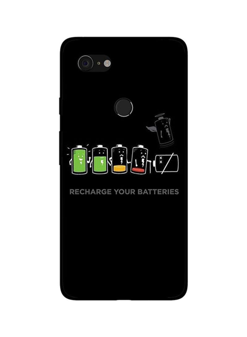 Protective Case Cover For Google Pixel 3 Recharge Your Batteries
