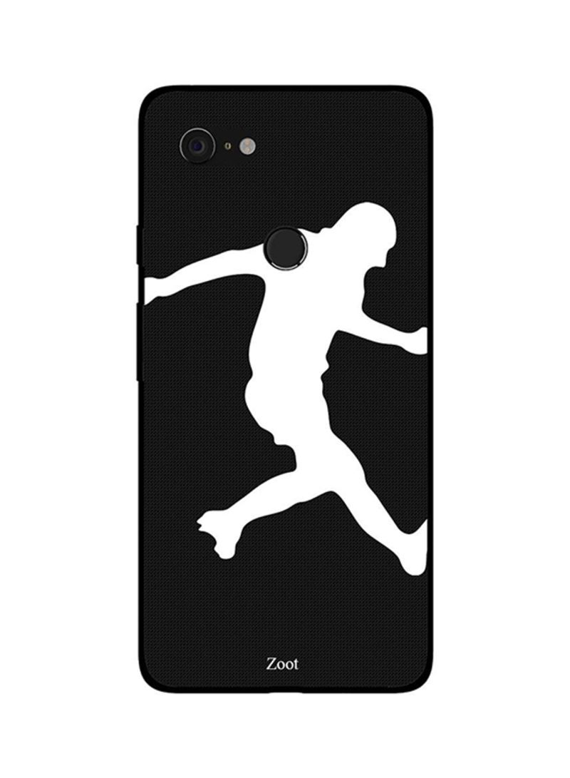 Protective Case Cover For Google Pixel 3XL Football BNW