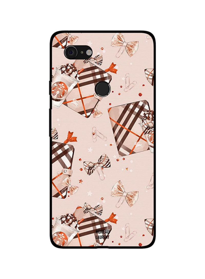Protective Case Cover For Google Pixel 3XL Chocolate Pouch and Ice Cream