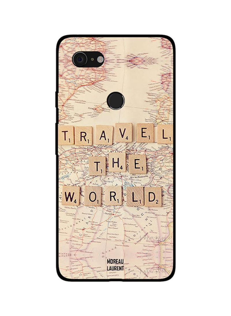 Protective Case Cover For Google Pixel 3XL Travel The world